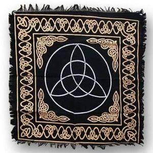 "Other - Triquetra altar cloth 24"" x 24"" Halloween Decor"